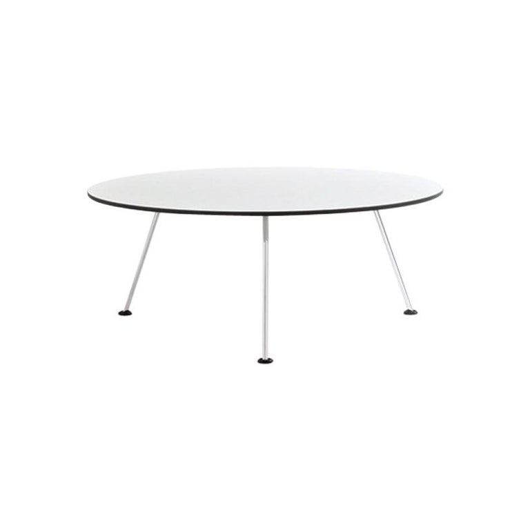 Artifort Orange Slice Low Coffee Table in White by Pierre Paulin For Sale