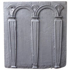 18th Century French Neoclassical Fireback