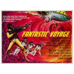 Fantastic Voyage Film, Movie Poster, 1966, Tom Beauvais