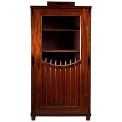 Russian Mahogany Bookcase with Glazed Door, 1820
