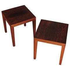 Severin Hansen Rosewood Side Tables