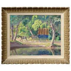 Spanish Landscape By Thomas Harold Beament (1898-1984) Canadian RCA