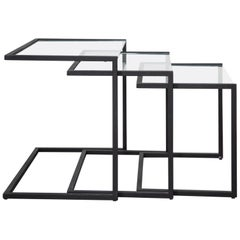Black Metal Nesting Tables
