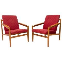 Pair of Midcentury Armchairs, 1960s