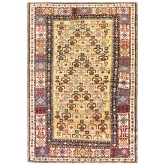 Antique Shirvan Caucasian Rug, Very Fine