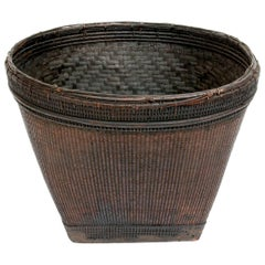 Old Market Basket from Burma, Mid-20th Century