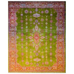 Incredible 19th Century Sultanabad Rug