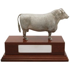 2004 Sterling Silver Presentation Bull
