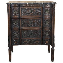 19th Century French Marble Top Louis XVI Commode