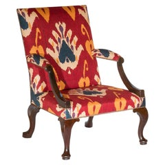 18th Century English George II Walnut Armchair