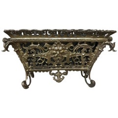 19th Century French Bronze Jardiniere