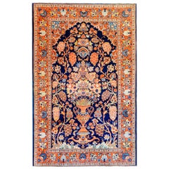 Gorgeous Early 20th Century Kashan Prayer Rug