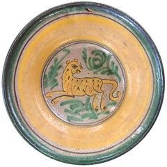 Antique Guatemalan Majolica, Cheetah