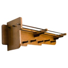 "Dutch ""Haagse School"" Coat Rack"