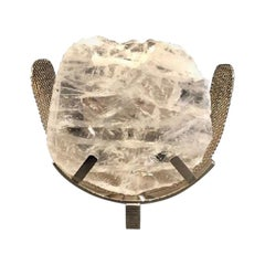 Wings Sconce in White Crystal Rock