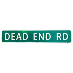 Long 'Dead End' Highway Sign