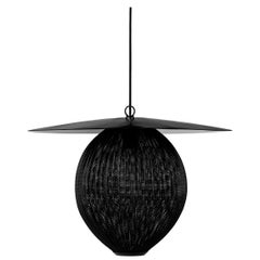 Satellite Pendant Large Black