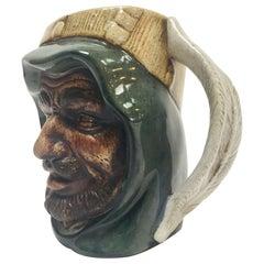 Vintage Ceramic Middle Eastern Arab Man Character Toby Mug