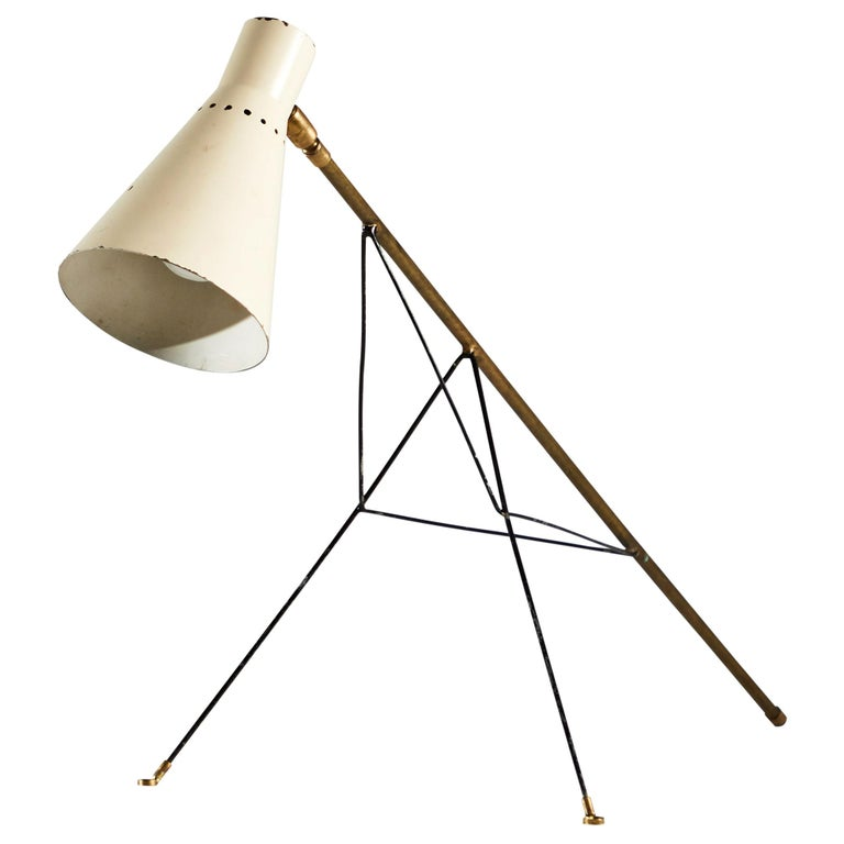 Rare Table or Wall Light by Stilnovo For Sale