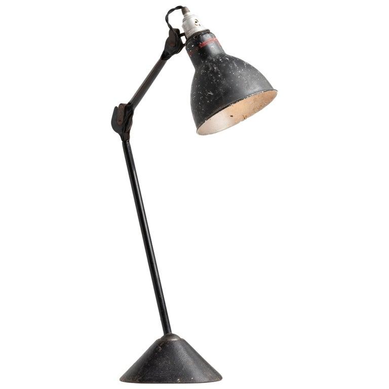 Gras Lamp No. 205, France, circa 1930 For Sale