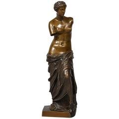 """Bronze """"Venus De Milo"""""""