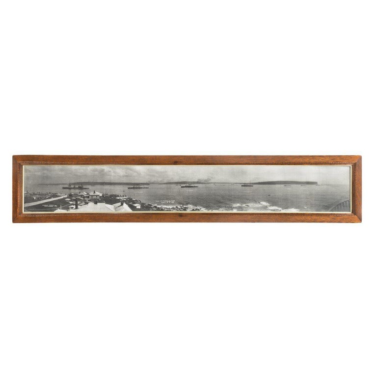 Panoramic Photograph of the Arrival of the Australian Fleet in Sydney, 1913 For Sale