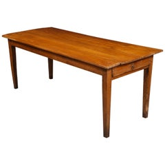 Antique Cherry Farm Table