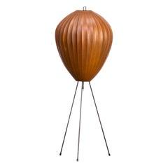 1970s H. Klingele Jumbo Tripod Floor Lamp for Artimeta