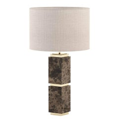 Empire Marble Table Lamp