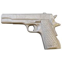 Revolver Sculpture Philippe Perrin 2000