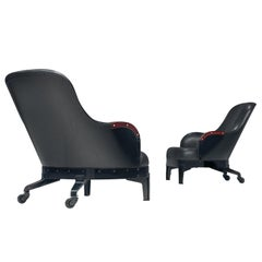 Mats Theselius for Källerno the Ritz Lounge Chairs 39/90 and 90/90