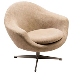 Teddy Bear Swivel Lounge Chair