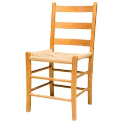Set of Eight Swedish Ladder Back Chairs