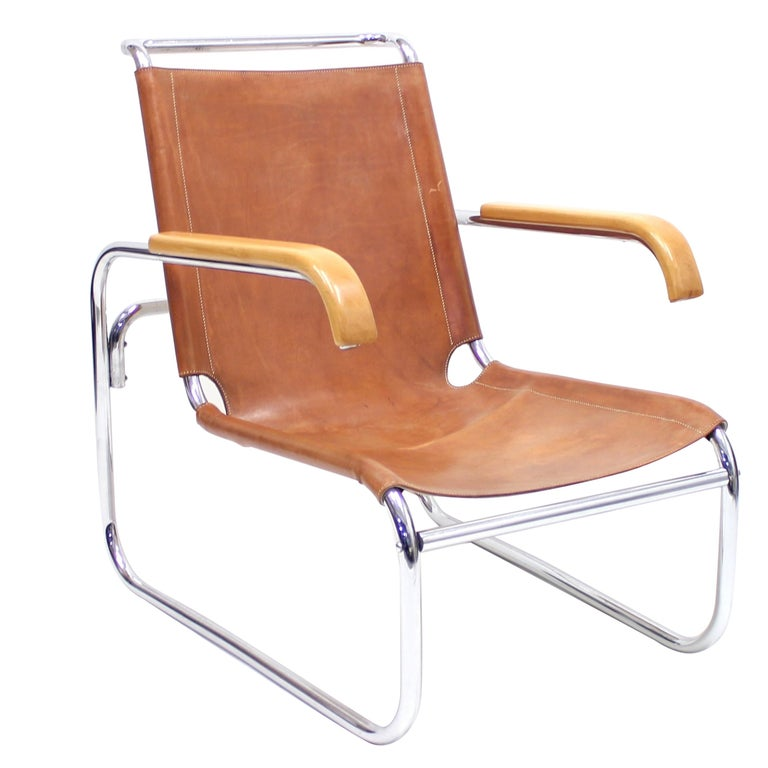 Early B35 Chair by Marcel Breuer for Thonet, 1930s For Sale