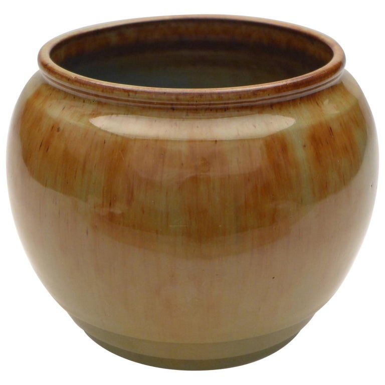 Art Deco Vase by W.C. Brouwer For Sale