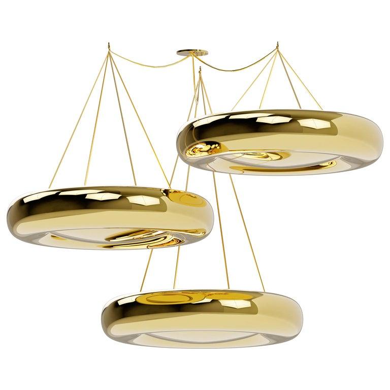 Ensemble of Marshmallow Ceiling Lamps, Royal Stranger For Sale