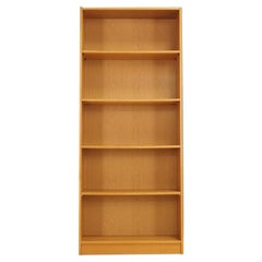 Bookcase Ash Scandinavian Design, 1960-1970