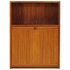 Retro Bookcase Rosewood Scandinavian Design, 1960-1970