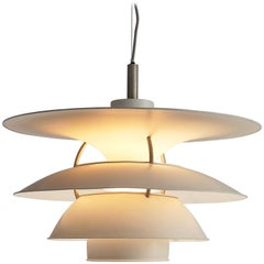 Poul Henningsen Large Charlottenburg Pendant for Louis Poulsen in Metal