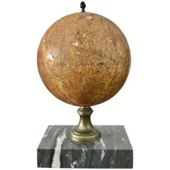 Small French Celestial Globe, Probably Emile Bertaux, circa 1880-1890