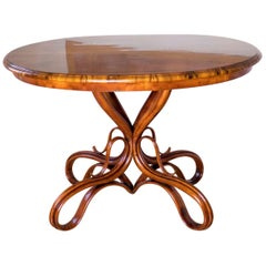 Beautiful Thonet Restored Table, Art Nouveau, 19th Century