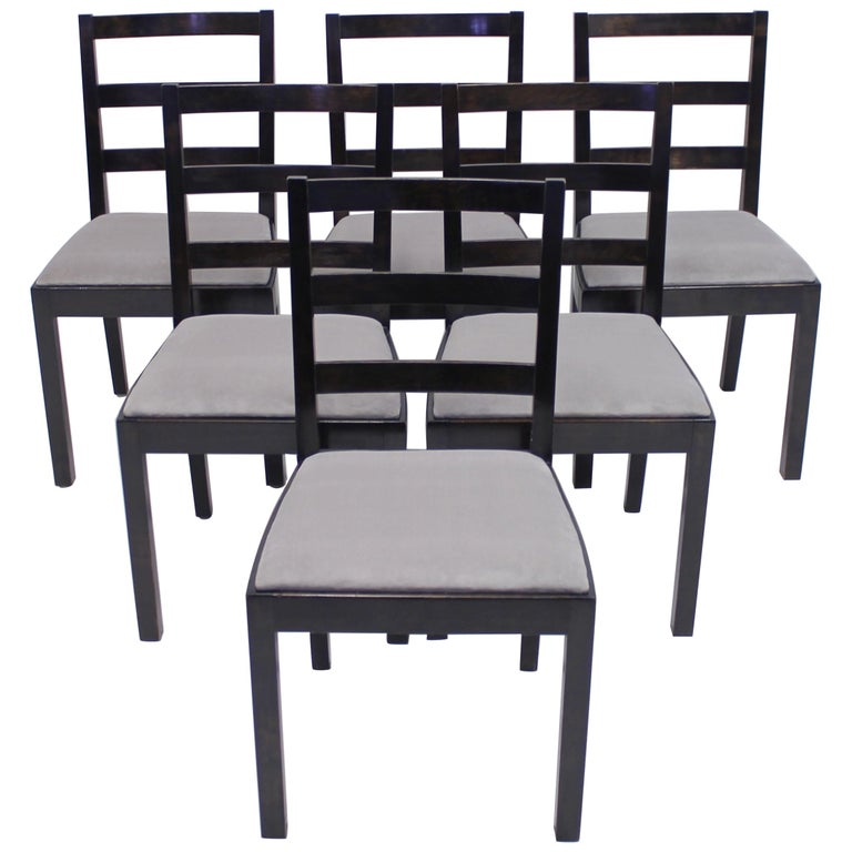 Typenko Chairs by Axel Einar Hjorth for Nordiska Kompaniet, 1930s, Set of 6 For Sale