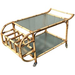 Danish Vintage Bar Cart 1930s Viggo Boesen