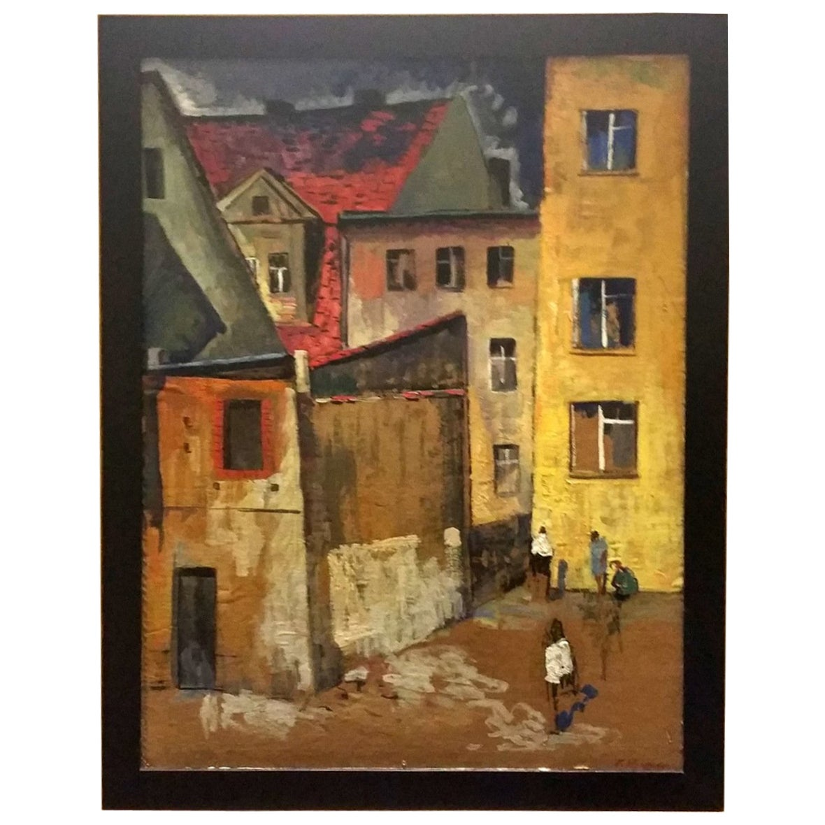 20th Century Munteanu Gheorghe Oil Painting