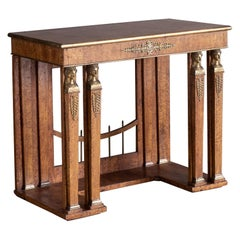 19th Century Neoclassical Console Table