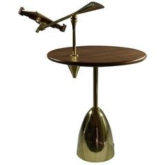 21st Century Contemporary Charging Table with Smartphone or Tablet Holder
