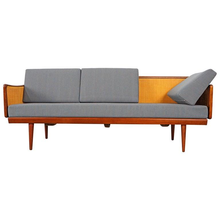 Daybed Sofa by Peter Hvidt & Orla Mølgaard Nielsen for France & Søn For Sale
