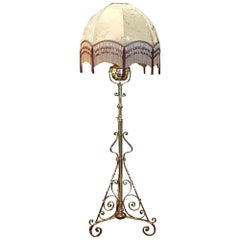 Arts & Crafts Telescopic Standard Lamp