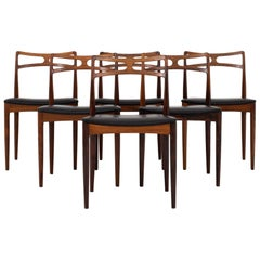 Set of 12 Dining Chairs by Johannes Andersen