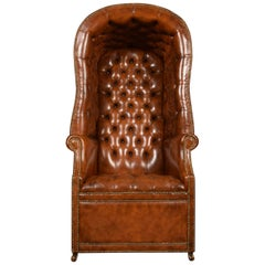 Regency Style Hall Porter's Chair